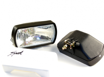 HOT SHOT Driving Light Kit w  Lexan   unbreakable   lens