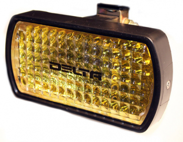 RACE CAR Dust Light - Hot Shot w  Polycarbonate Lens  Amber