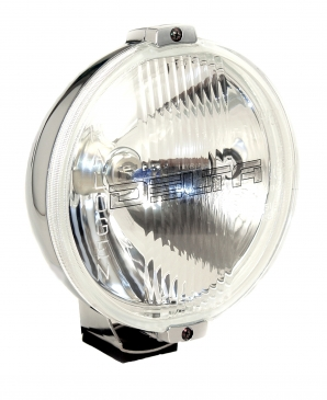 800H Series  Driving Light Kit - Chrome  w  Stone Guard