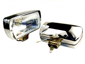 220 SERIES DRIVING LIGHT KIT- CHROME