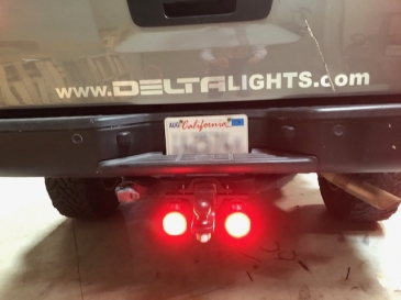 BULLET LED HITCH BACKUP 'N' STOP LIGHTS