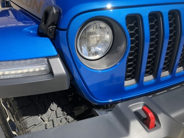 AMBER HALO LED HEADLIGHT KIT -JEEP JL/ JT