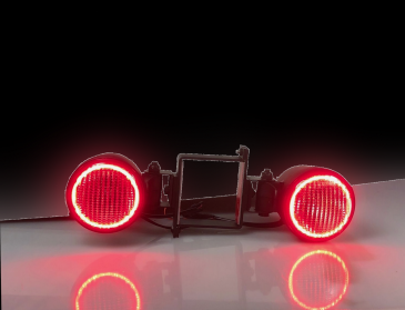 HITCH - BULLET LED Backup   Halo Stop Light Set